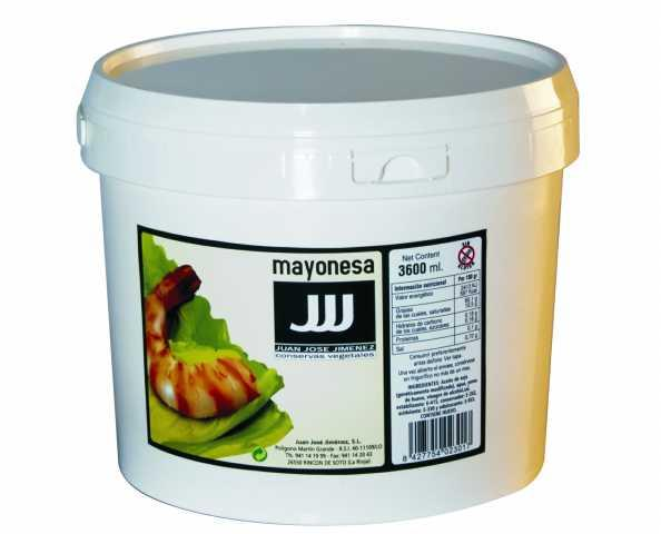 MAYONESA CUBO 3600 ML. JJJ