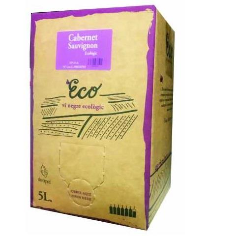5 LT NEGRE CABERNET 13º MASO BAG IN BOX ECOLOGIC