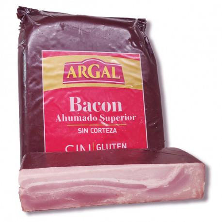 BACON AHUMADO ARGAL SUPERIOR SIN CORTEZA €/KG