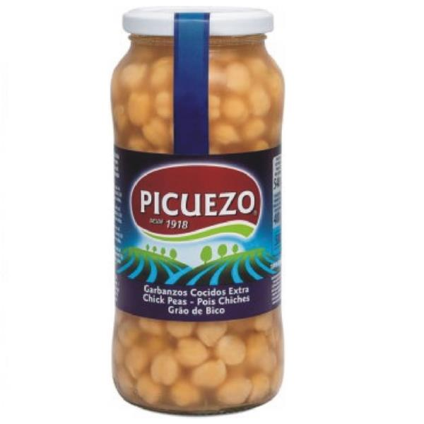 GARBANZOS NATURAL TARRO 580 ML.
