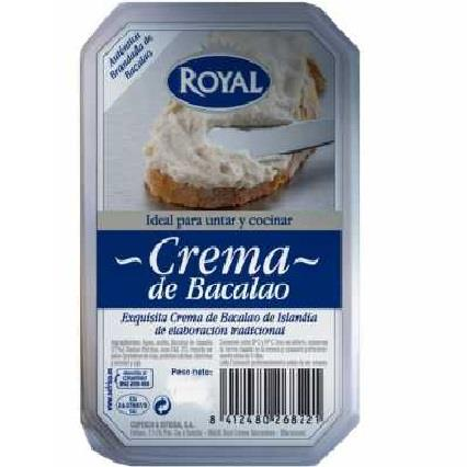 CREMA DE BACALLA (BRANDADA) 500 GR ROYAL