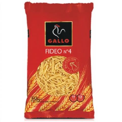 GALLO 250 GR FIDEU N�C/24