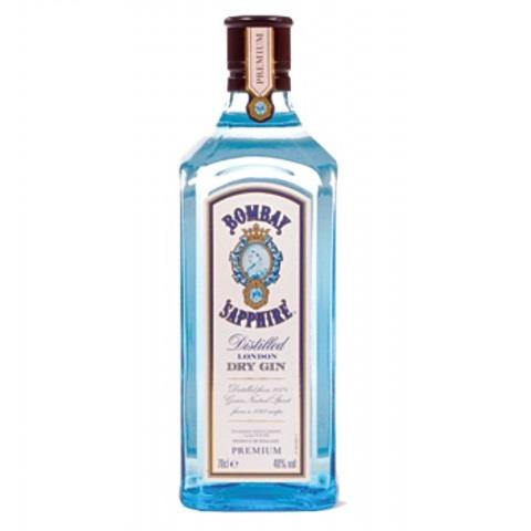 GIN BOMBAY SAPHIRE 70 CL. 40º  IRRELLENABLE