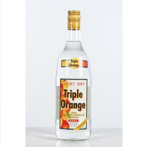 LICOR TRIPLE ORANGE SEC 1L. DEVA 30º