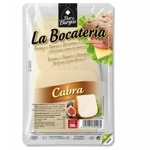 LLESQUES CABRA BOCATERIA 200 GR GT