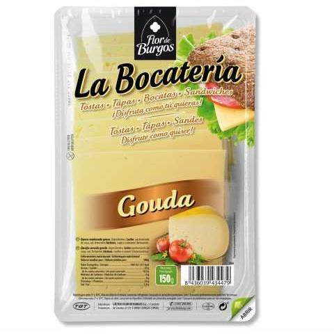 LLESQUES GOUDA BOCATERIA 100 GR GT