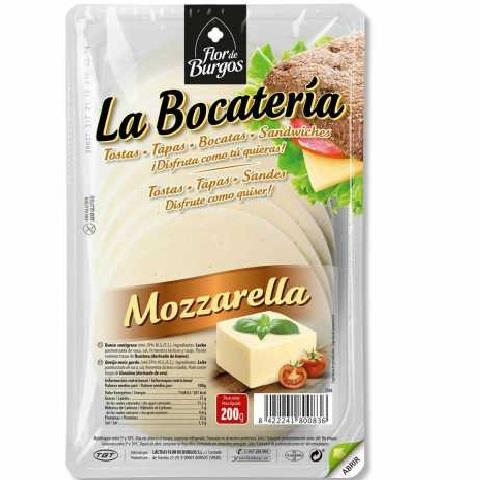 LLESQUES MOZZARELLA 100 GR BOCATERIA GT