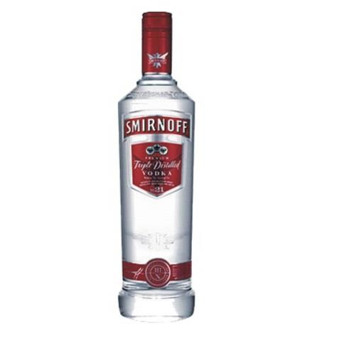 VODKA SMIRNOFF 1LT.