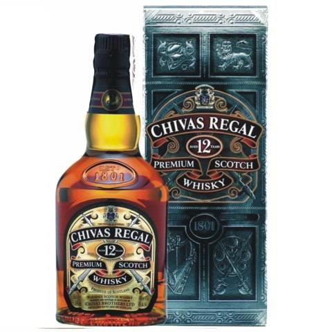 WHISKY CHIVAS REGAL 12 ANYS 40º C/6